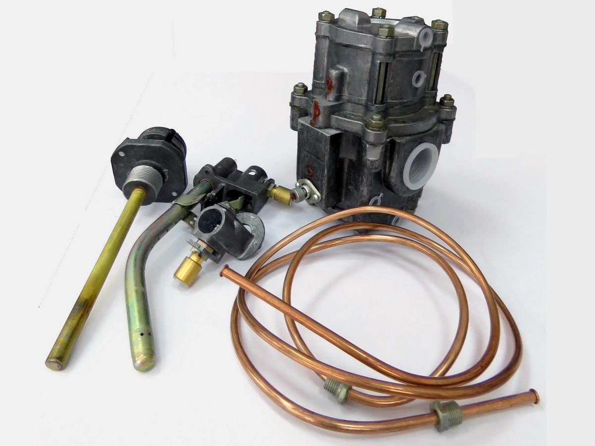 Регулятор газовый универсальный РГУ2-1-М1-100